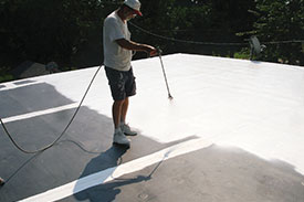 Epdm Amp Single Ply Roof Repair And Restoration For