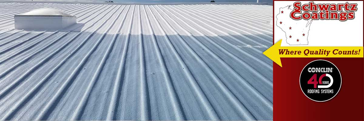 Commercial Spray Foam Roof Coatings for Wisconsin - Schwartz Coatings